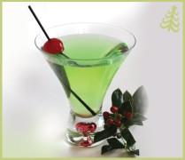 Grinch Cocktail - source: mixthatdrink.com